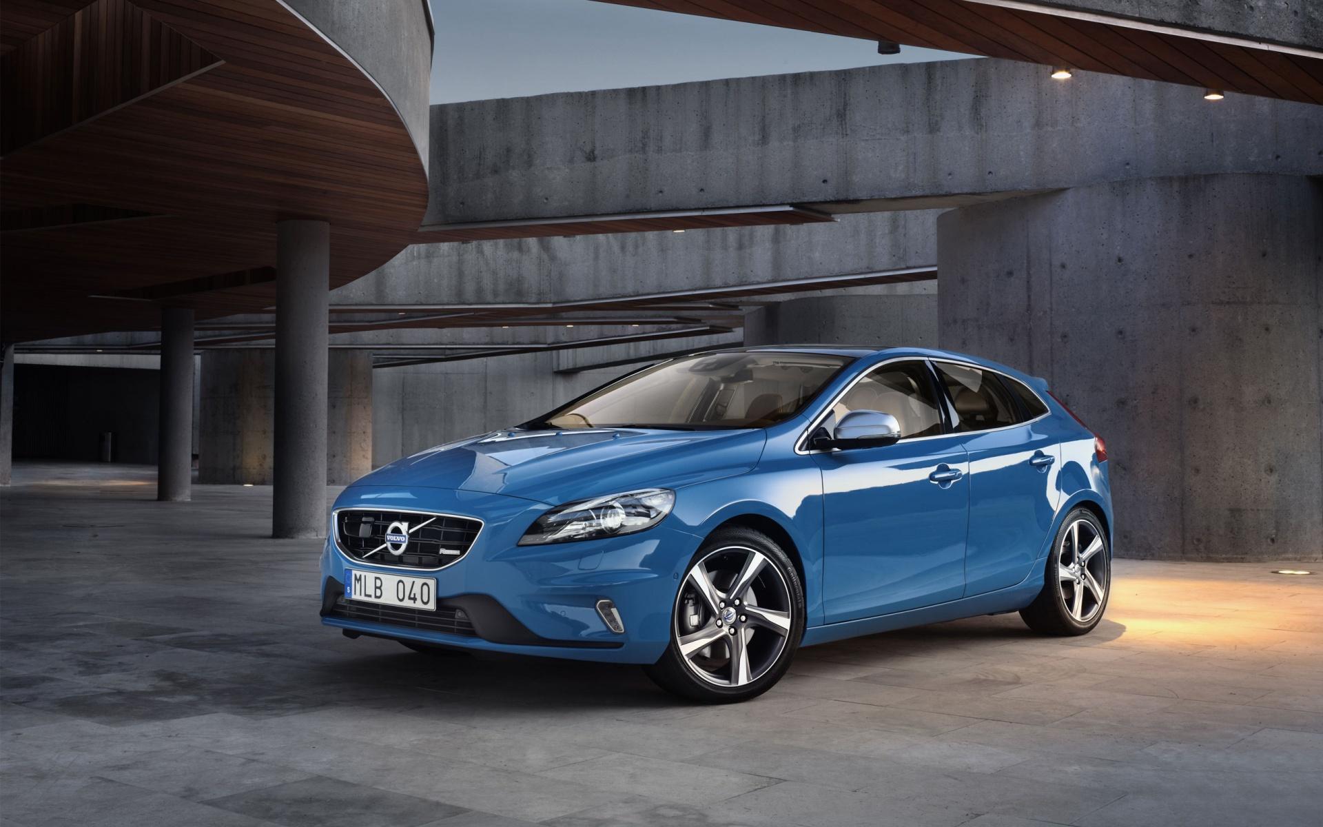 Blue Unique Sports Car HD Wallpaper
