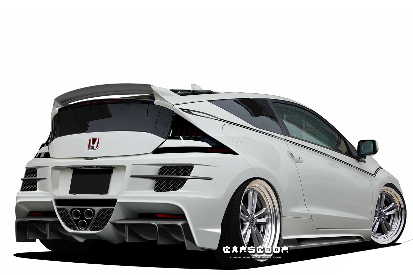 white honda crz hd wallpaper. Black Bedroom Furniture Sets. Home Design Ideas