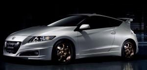 White Honda CRZ Wallpaper