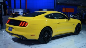Yellow Ford Car Sports HD