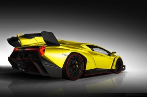 Yellow Lamborghini Veneno