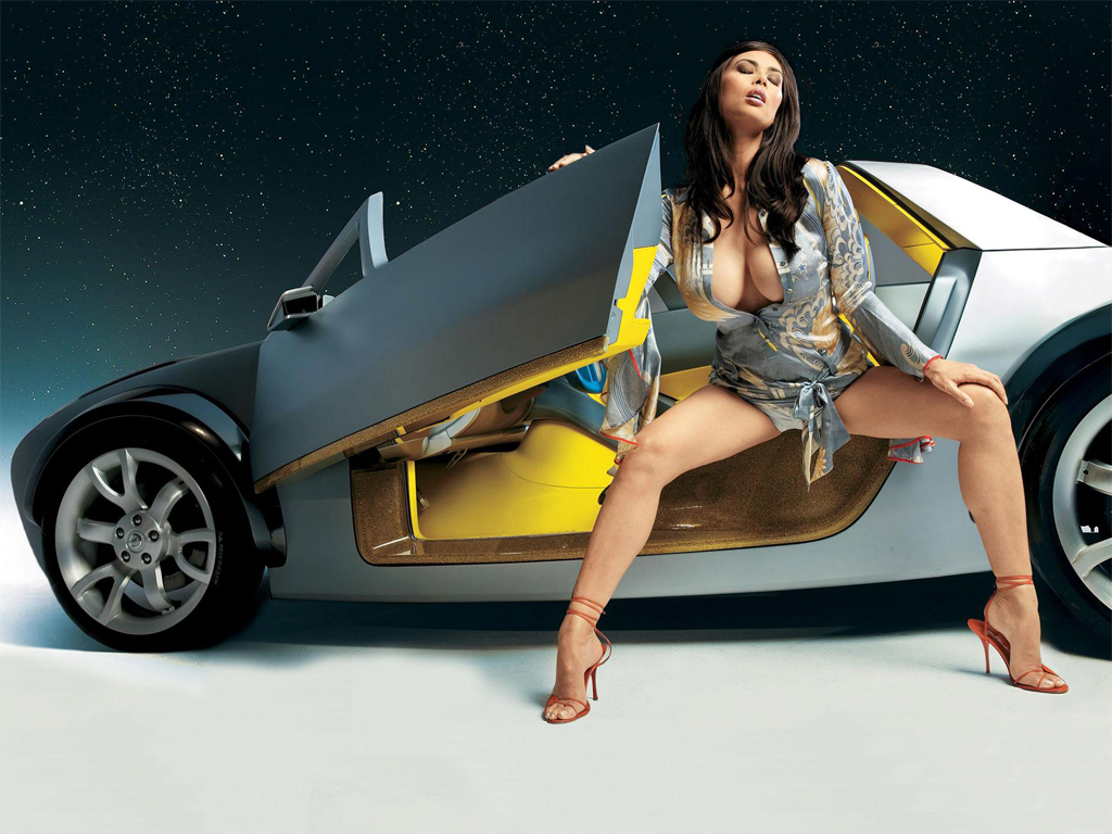 girl beautiful and car wallpapers |