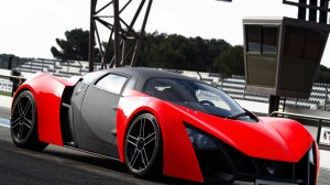 download Marussia Red Sports Car 1080p Hd Desktop Wallpaper