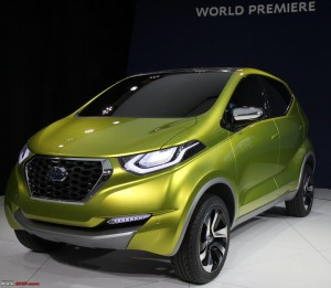 download free 2014 Concept Datsun Redi Go Green Wallpapers