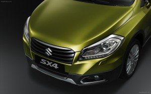 download 2014 Suzuki SX4 Front Bumper Lights Grill Wallpapers