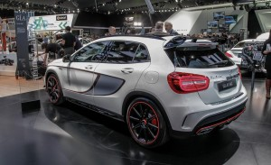 free Side View 2015 Mercedes Benz GLA45 AMG