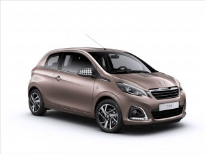download Side View Peugeot 108 2015 HD