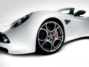 download Alfa Romeo White Car