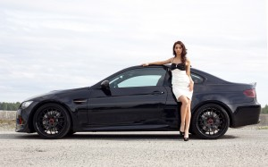 download Honda Car and Cute Girl-2014-15 Wallpapers