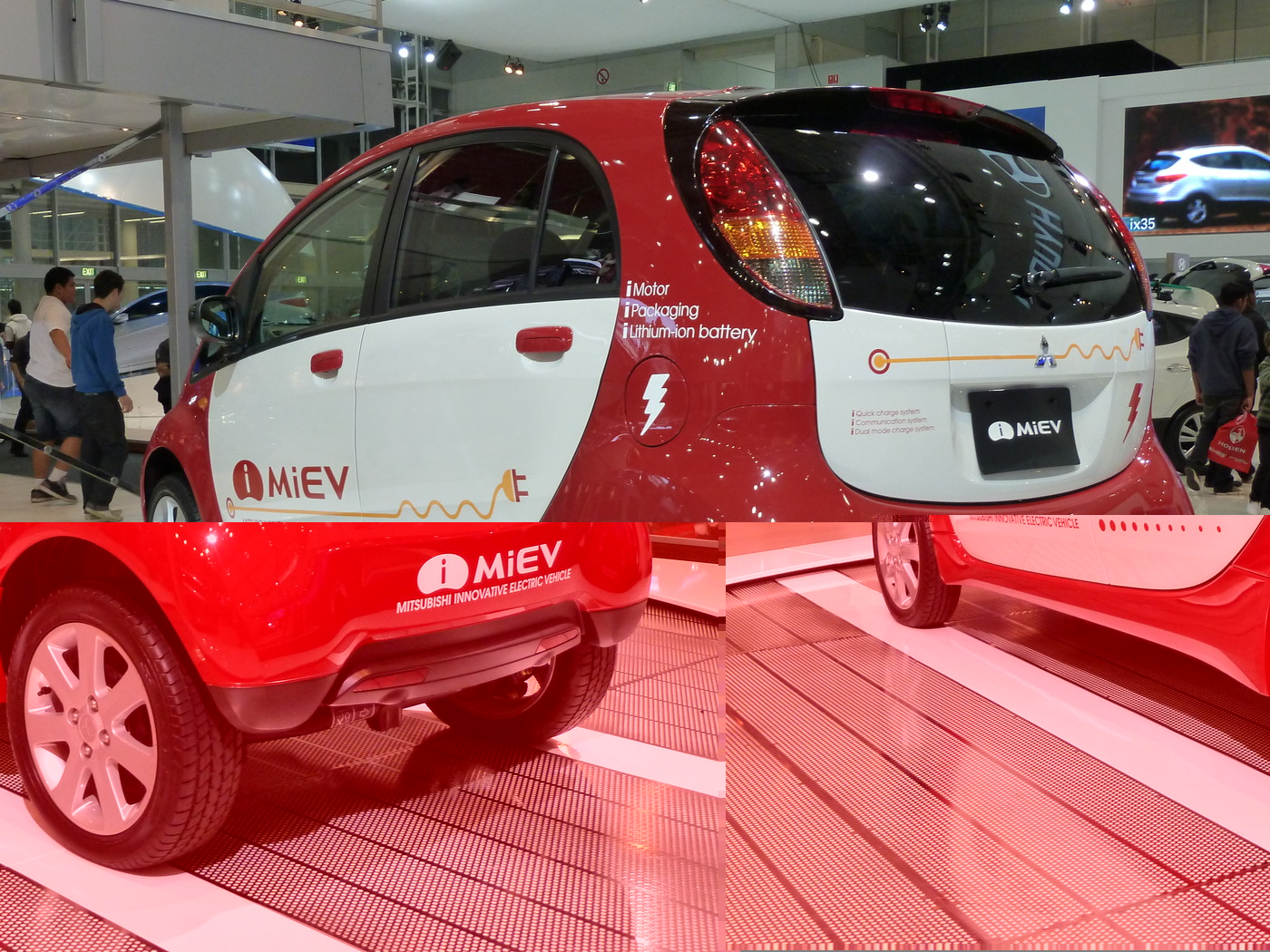 download Mitsubishi I Miev Car hD Wallpapers