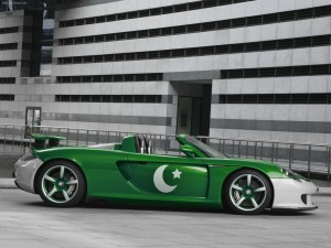 download Pakistan Tech Art Porsche Carrera GT_2014