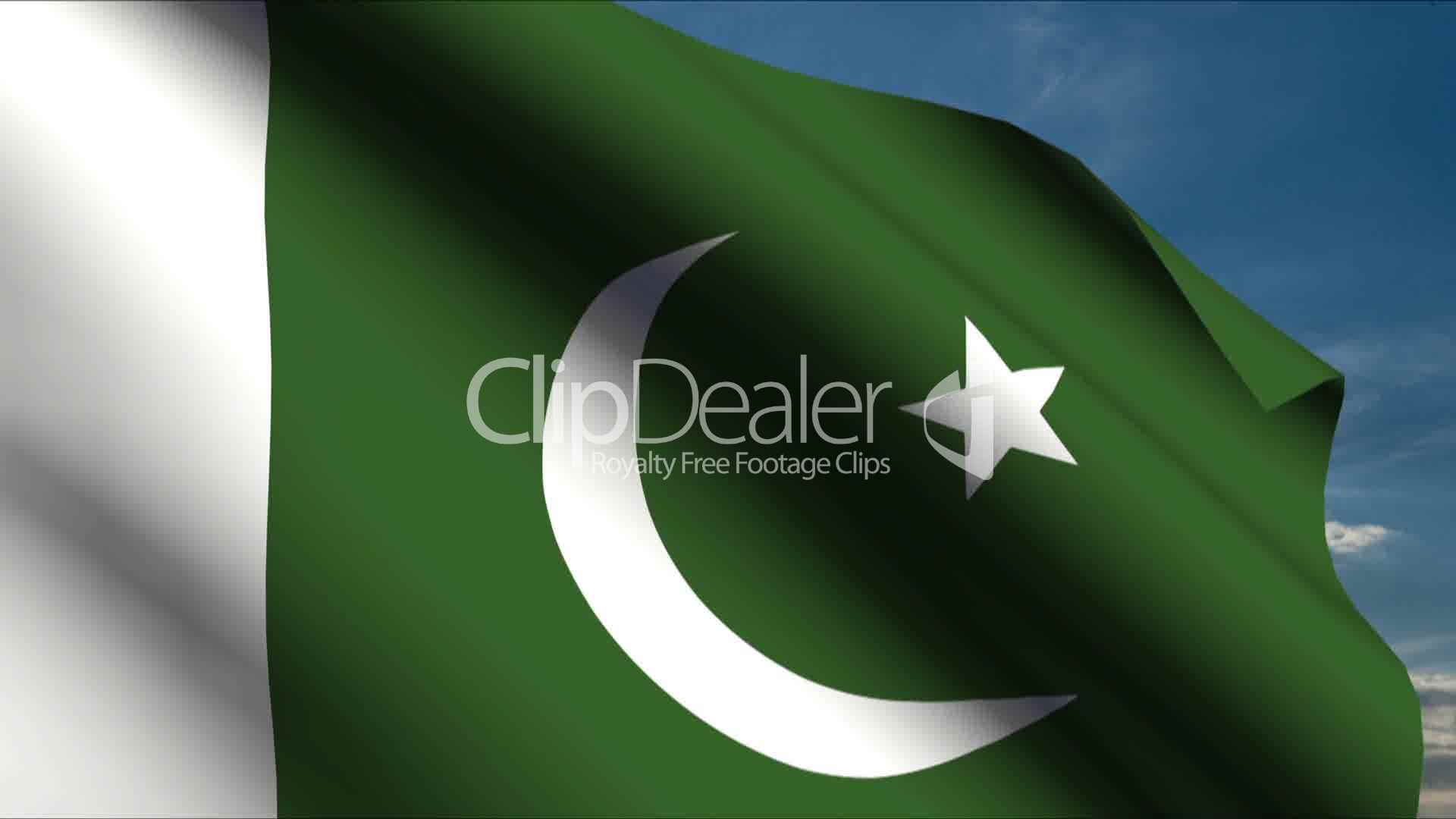 pakistan flagg