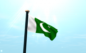 free Pakistan Flag On Top of Roof Wallpapers