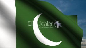 download Pakistan Flag waving in wind with clouds in background HD Wallpapers