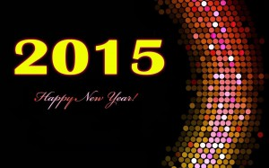 free 2015 New Year Welcome HD Wallpapers