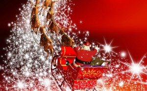 downloada 2015-Wallpapers Christmas day santa on wheels 2014
