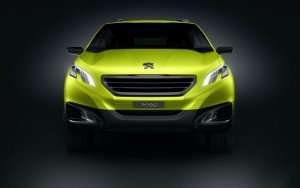 Download 3D Peugeot Concept Car Hd Wallpaper