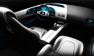 Download Biohybrid Saab Interior Hd Wallpaper