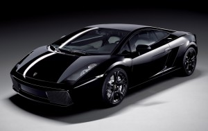 Download Black Beauty Lamborghini Hd Wallpaper