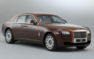 Download Brown Rolls Royce Car Hd Wallpaper