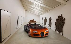Download Bugatti Veyron Sports Car Hd Wallpaper