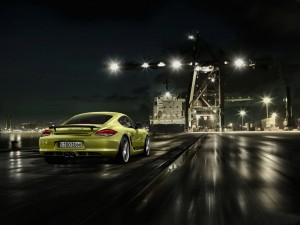 Download City Lights Porsche Cayman Hd Wallpaper