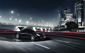Download CityLights Porsche Cayman HdWallpaper