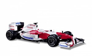 Download Denso Toyota TF109 Racer Hd Wallpaper