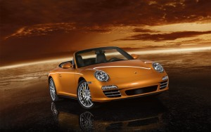 Download Dusky Carrera 4 Cabriolet HdWallpaper