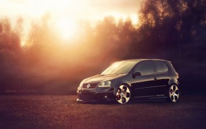 Download Dusky Volkswagen Golf GTI HdWallpaper