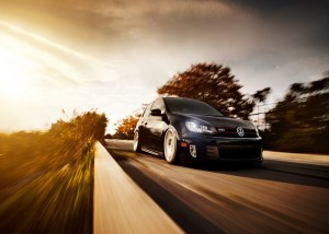 Download High Speed Volkswagen Car HdWallpaper