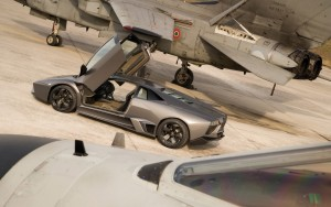 Download Lamborghini AirCraft Race HdWallpaper