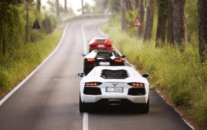 Download Lamborghini Car Queue Hd Wallpaper