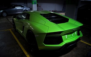 Download  Lamborghini In Parking Hd Wallpaper