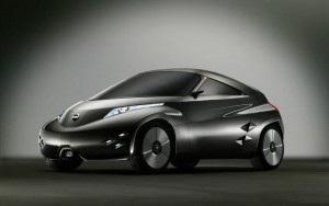 Download Nissan Mixim 3D Concept Hd Wallpaper