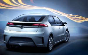 Download Opel Ampera 3D Abstract Hd Wallpaper