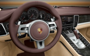 Download Porsche Panamera Steering HdWallpaper