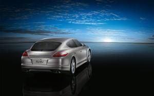Download Porsche Turbo Panamera Hd Wallpaper