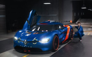 Download Preparing Renault Alpine Hd Wallpaper
