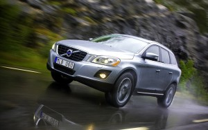 Download Rain Friendly Volvo Car Hd Wallpaper