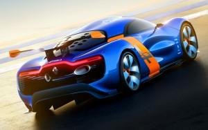 Download Renault Alpine Car Back Hd Wallpaper
