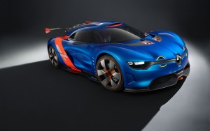 Download Renault Alpine On Focus Hd Wallpaper