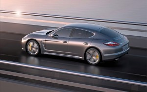 Download Silver Porsche Panamera Turbo Hd Wallpaper