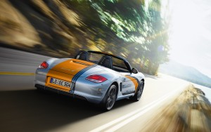 Download Speed Move Porsche Boxter HdWallpaper
