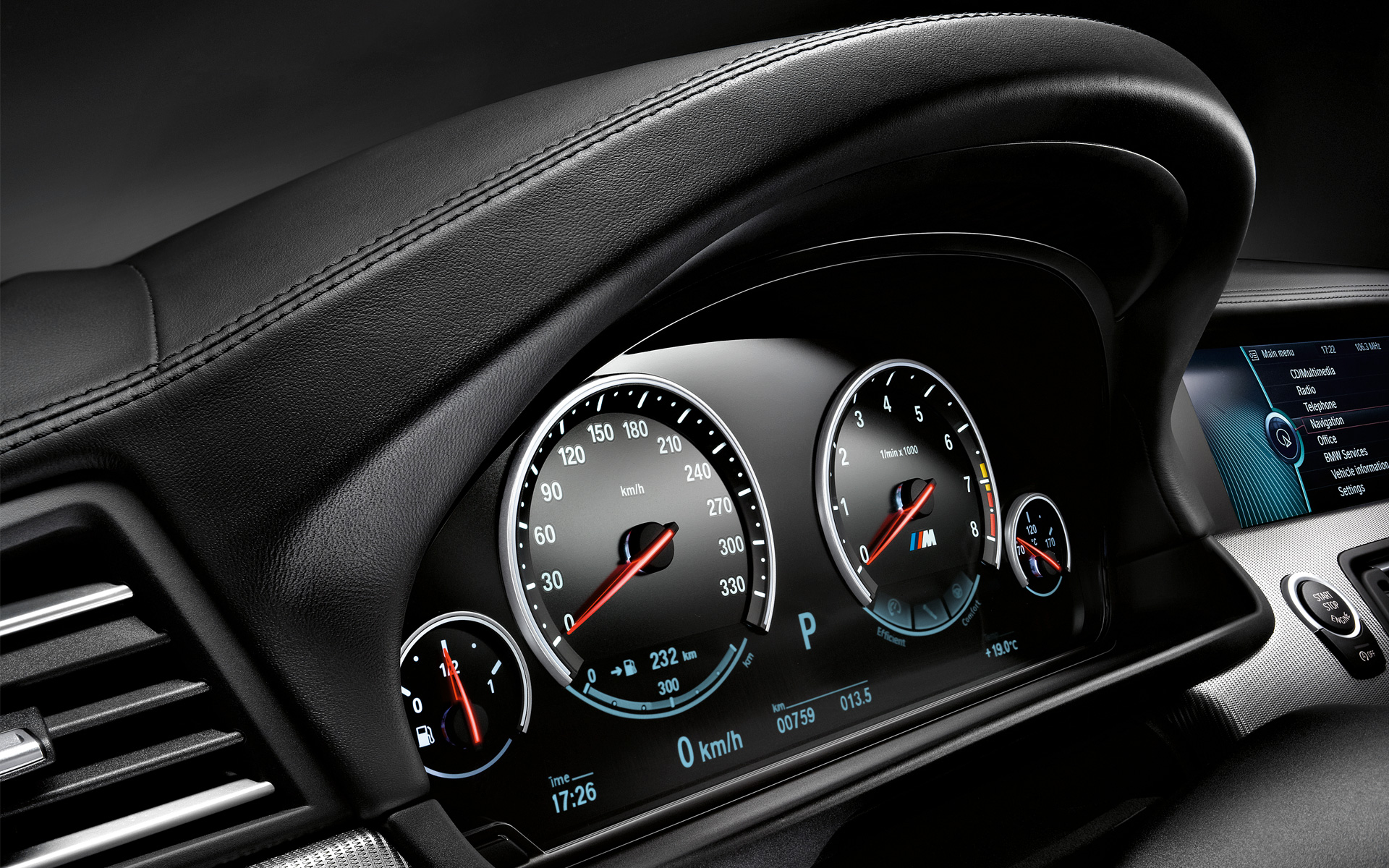 SpeedoMeter BMW Dashboard HdWallpaper - 9to5 Car Wallpapers