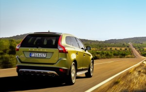 Download Speedy Green Volvo XC60 Car Hd Wallpaper