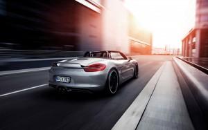 Download Speedy Porsche Boxter Car Hd Wallpaper