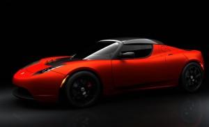 Download Sports Car Tesla Roadster HdWallpaper