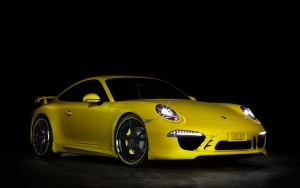 Download Techart Porsche Shining Hd Wallpaper