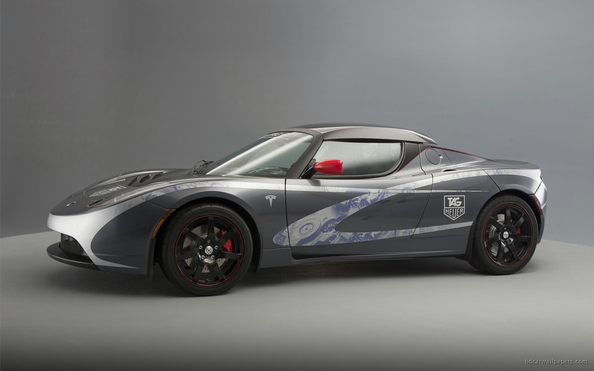 Tesla Roadster Startling Hd Wallpaper My Site